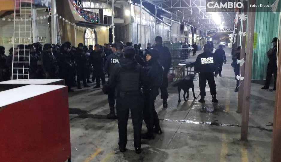 Gremios de comerciantes pugnan por  espacios en tianguis de Texmelucan