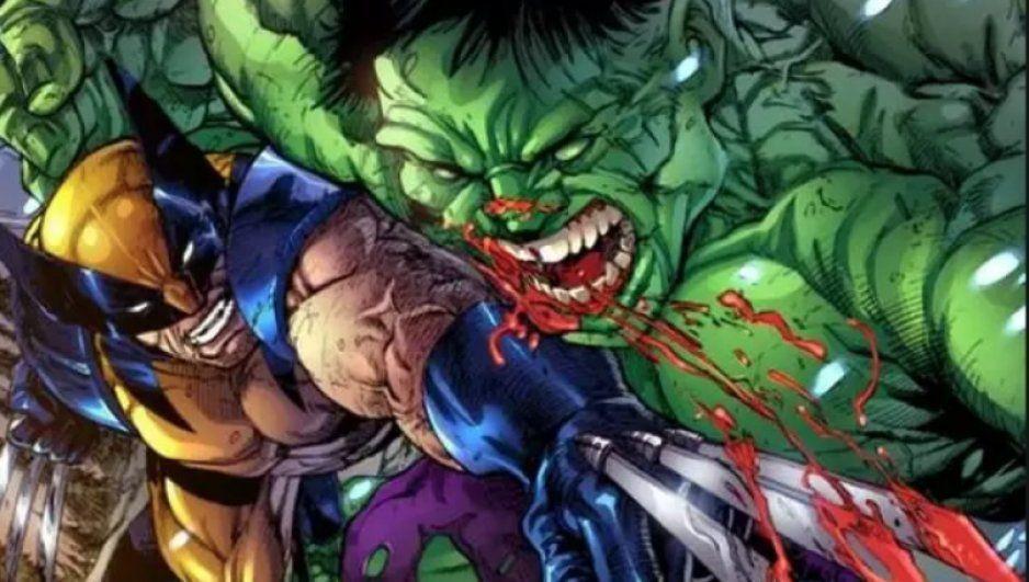 ¡Wooow! Habría planes para una película de Hulk vs Wolverine