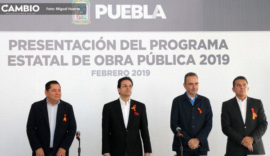Gobierno de Pacheco Pulido presenta megapaquete de 26 obras emblemáticas