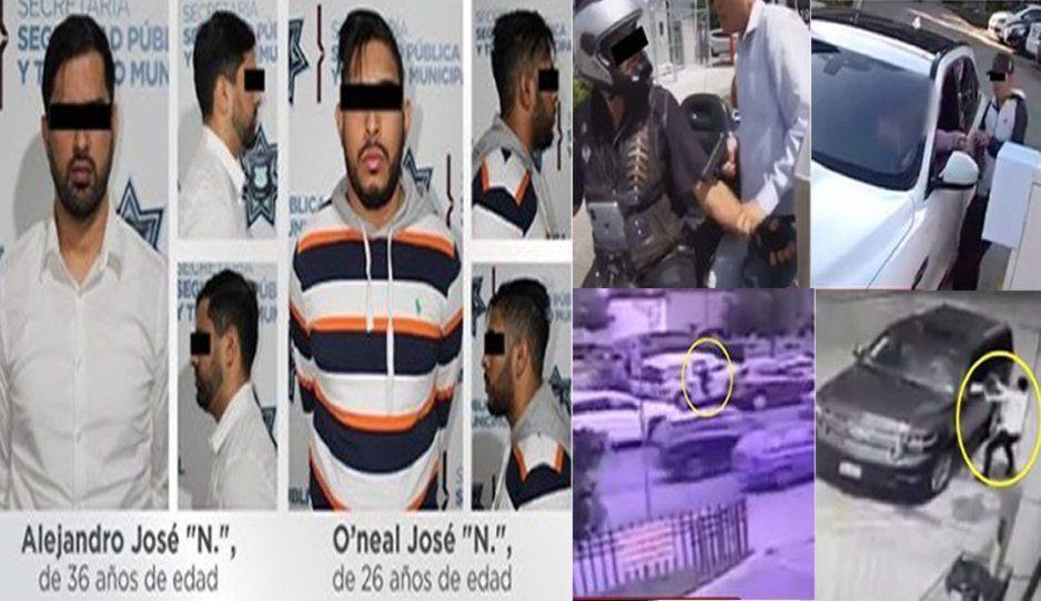 Cae banda de robarelojes de Angelópolis; son venezolanos (FOTOS y VIDEO)
