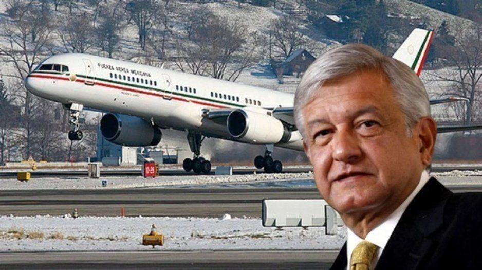 Plantea AMLO feria para vender aeronaves
