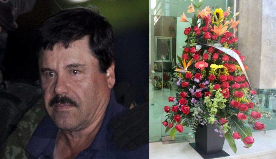 Con cariño tu compa El Chapo: envía arreglos florales a panteón de Culiacán