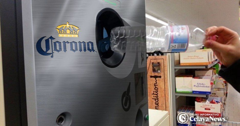 Nueva campaña de Corona: Pagar cervezas con botellas de plástico