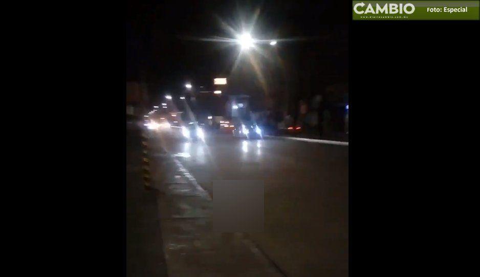 Fórmula 1 a la poblana: Mirreyes organizan arrancones en la Calzada Zavaleta (VIDEO)
