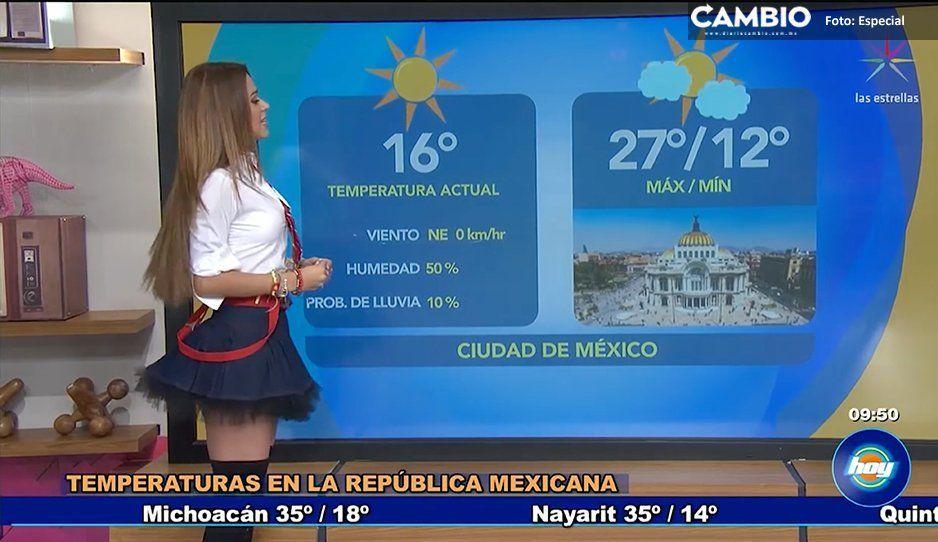 ¡Que rebelde! Yanet García se lució vestida como Mia Colucci
