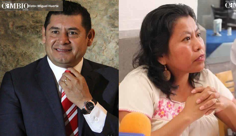 Armenta contraataca, diputada afín denuncia a Barbosa ante el INE