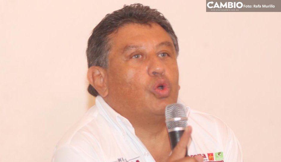 Claudia Rivera cuenta con el respaldo de Barbosa: Carlos Meza
