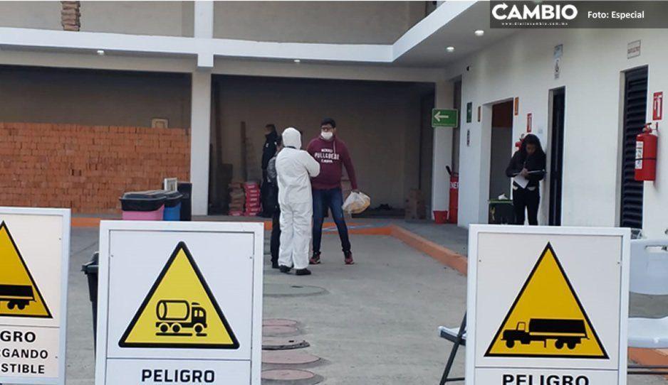 Asesinan a balazos a un velador en gasolinera de Texmelucan