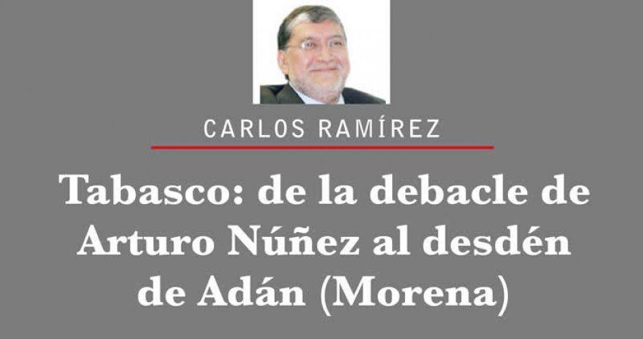 Tabasco: de la debacle de Arturo Núñez al desdén de Adán (Morena)