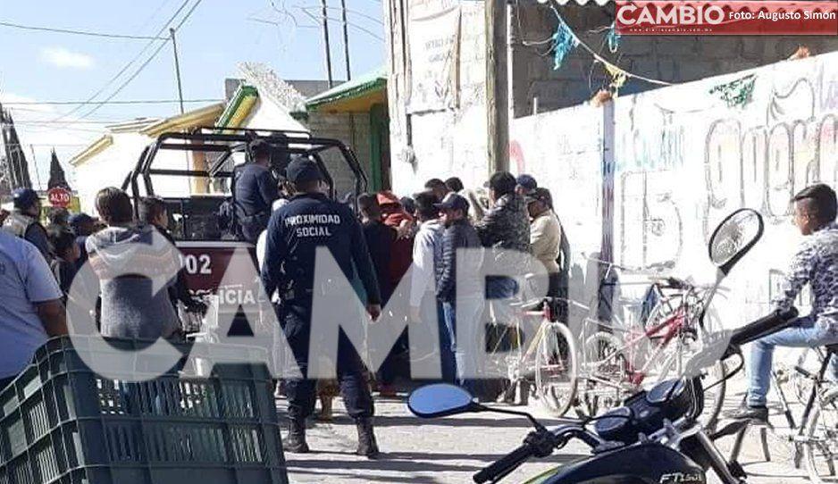 Huixcolotla ingobernable: se quedan sin patrullas y sin policías municipales