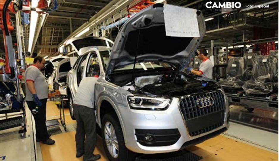 Paros técnicos cobran factura a Audi: cae producción 41.1 %