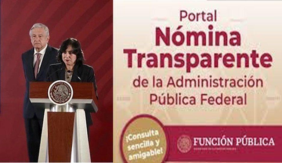 Gobierno de AMLO presenta portal para conocer salarios de servidores públicos federales