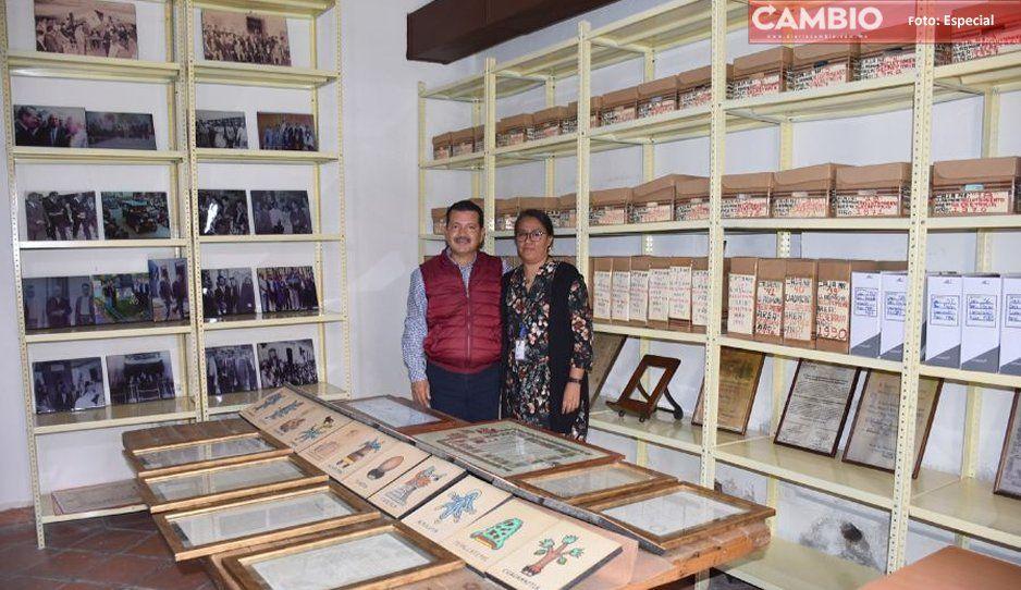 Obtiene archivo de San Pedro Cholula su registro estatal