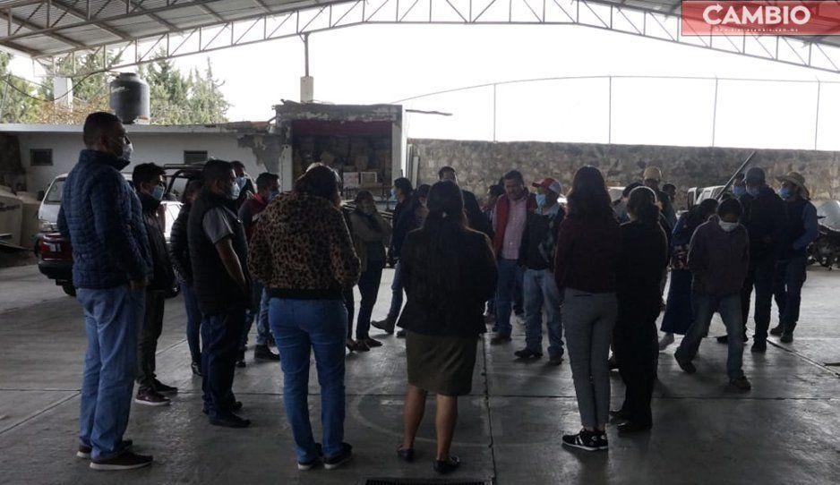 Ayuntamiento de Tochimilco realiza macrosimulacro