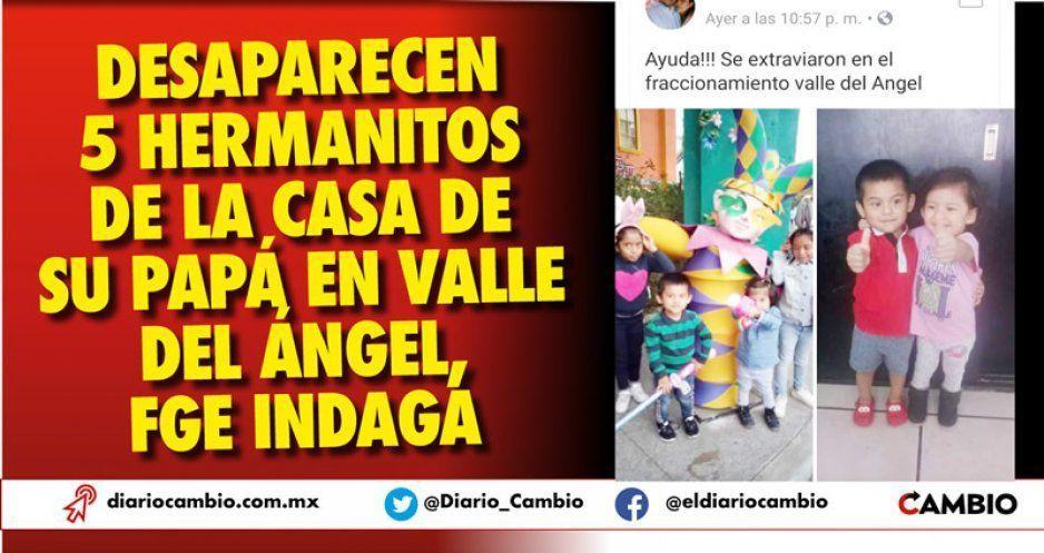 Se roban a sus 5 hijitos en el fraccionamiento Valle del Ángel ¡Ayuda a encontrarlos!