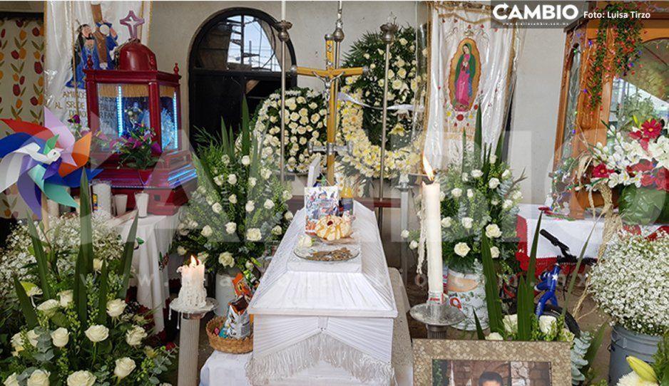 Velan restos de niño de 9 años asesinado durante un asalto en San Andrés Cholula (VIDEO)