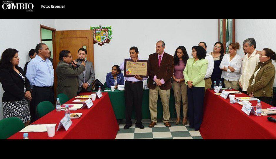 Frenan candidatura de ex regidor  de Obra Pública de Texmelucan