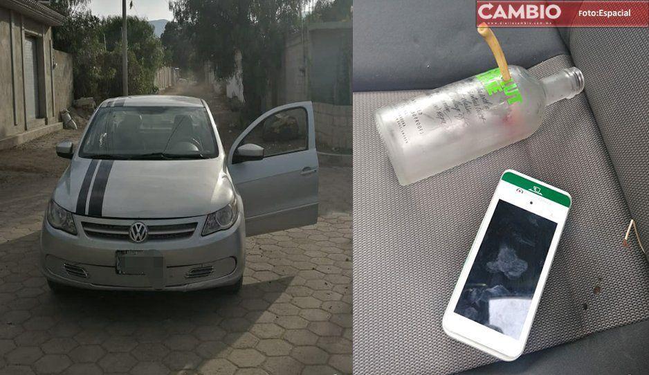Tras persecución, detienen a tres con vehículo robado y uso de drogas en Palmar de Bravo