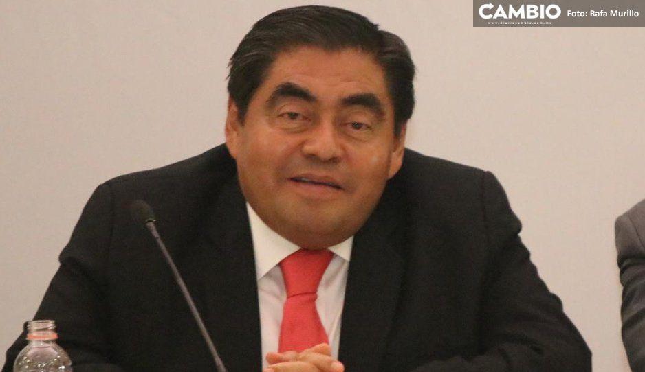 Presume Barbosa el respaldo de AMLO para desarrollar proyectos en Puebla
