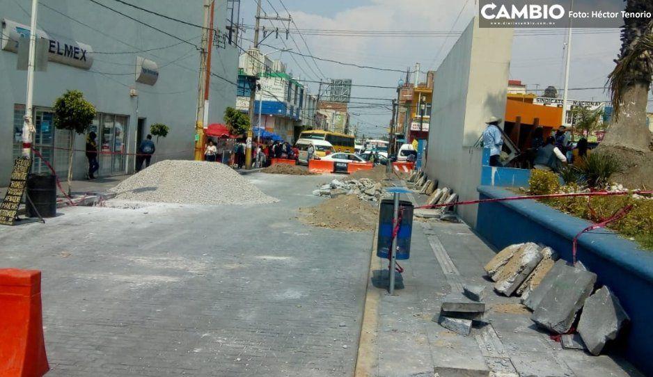 Instalarán corredor gastronómico en Texmelucan para reubicar ambulantes