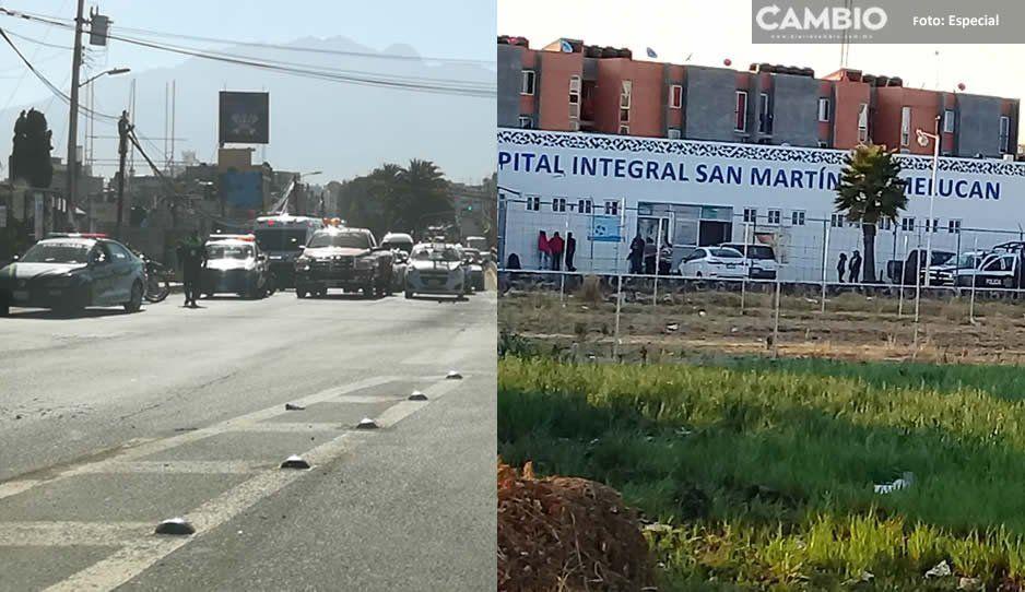 Se desata otra balacera en Texmelucan: rafaguean a sujeto cerca de la comisaría