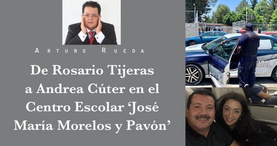 De Rosario Tijeras a Andrea Cúter en el Centro Escolar 'José María Morelos y Pavón'