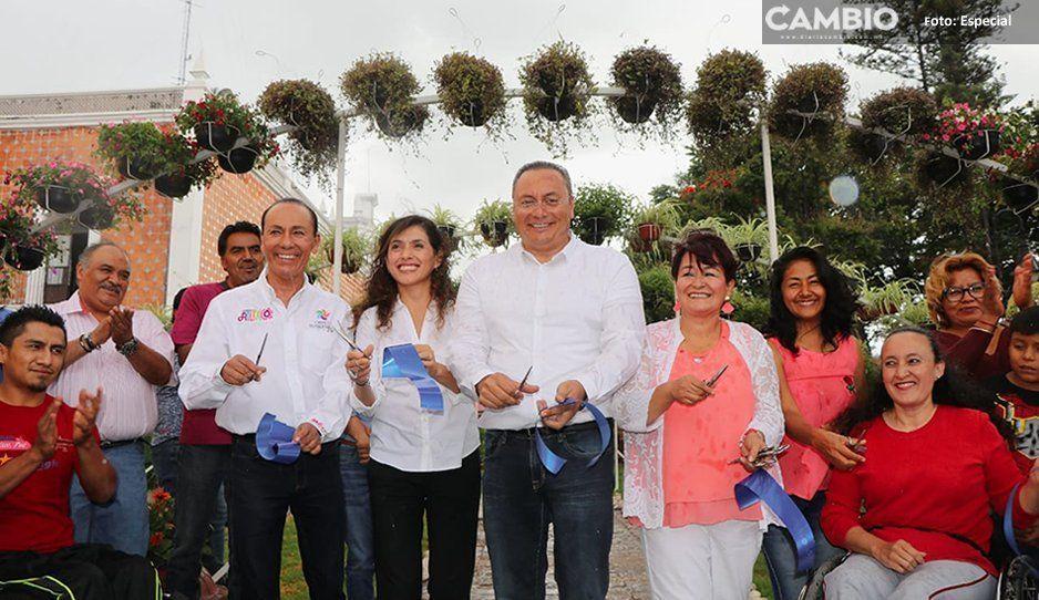 FOTOS: Inaugura Memo Velázquez el primer Tapete Monumental Incluyente