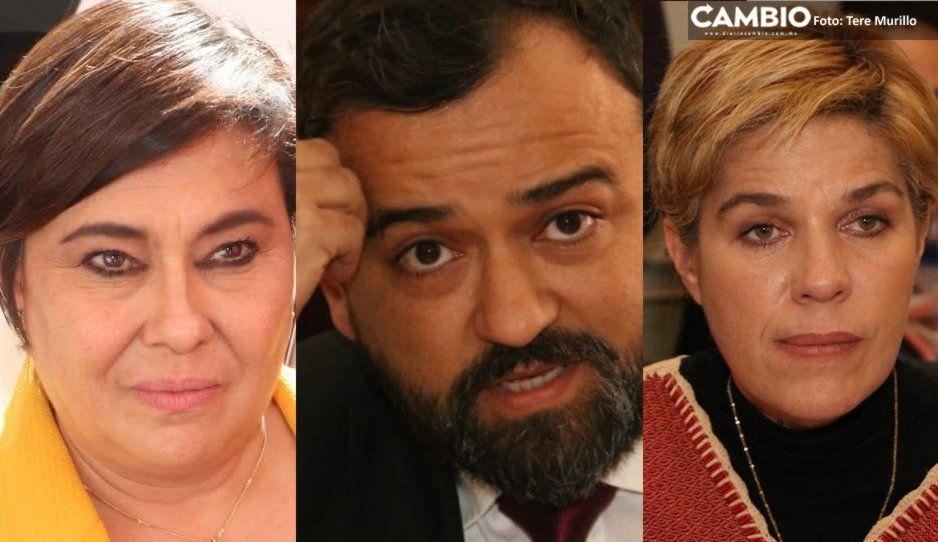 Quien critica a los secretarios es porque no quiera a Puebla, así defiende Claudia a Lourdes Rosales, Rene Sánchez y Rubio Acle