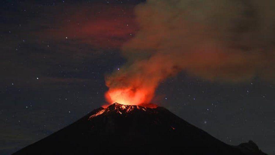 FOTOS: Explosión del Popocatépetl ocasionó posible ruptura total del domo