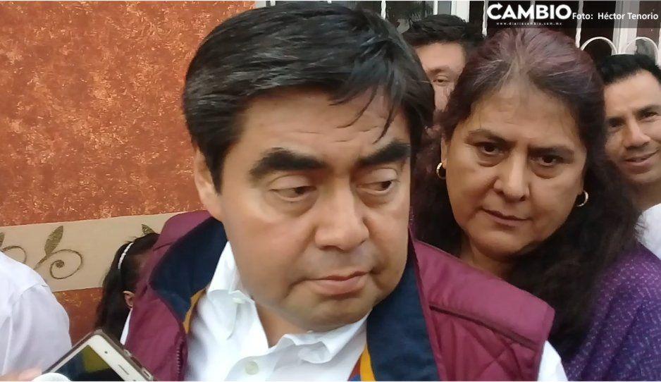 De gira por Texmelucan, Barbosa pide civilidad política a aspirantes de Morena a la gubernatura