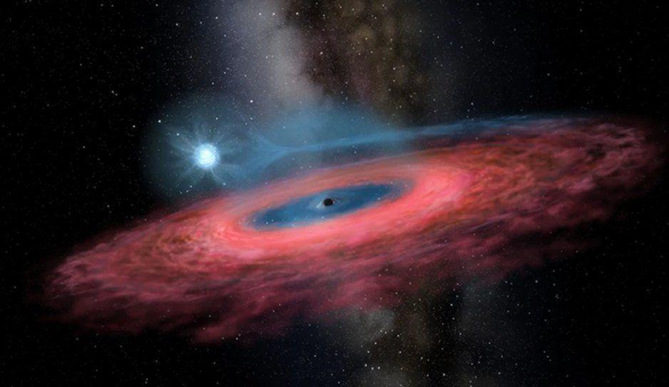 Hallan agujero negro, científicos creen que es 70 veces mayor a la masa del sol.