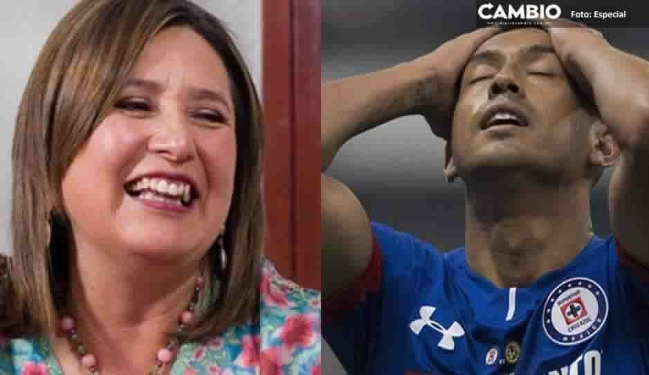Xóchitl Gálvez compara escasez de gasolina con sequía de Cruz Azul