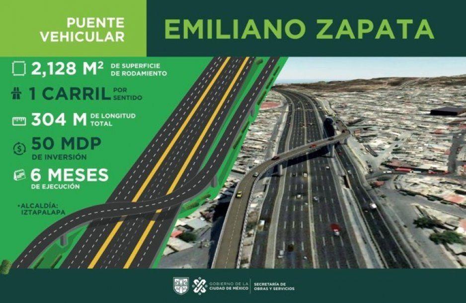 ¡Caos y más caos! Anuncian construcción de puente en la México-Puebla