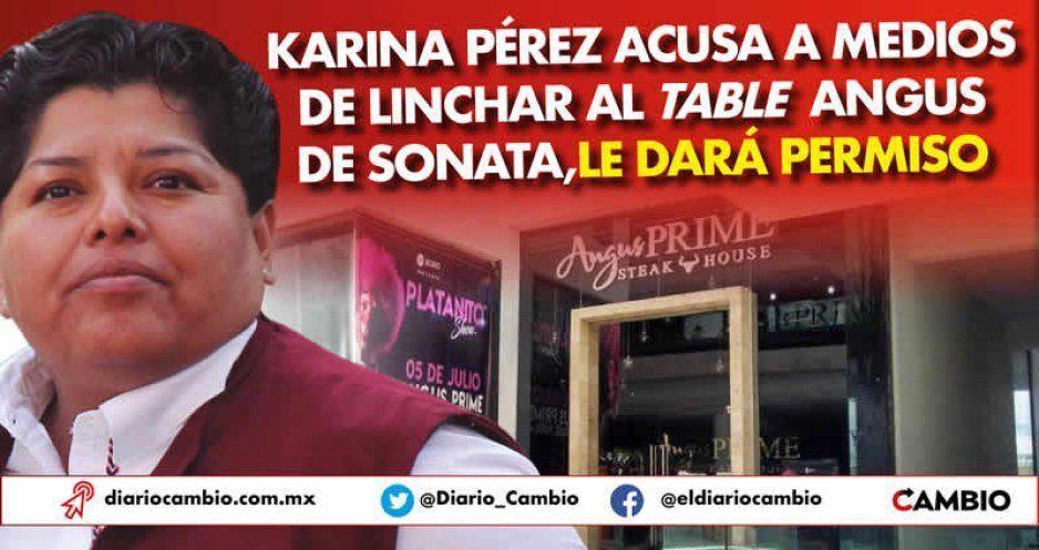 Karina Pérez acusa a medios de linchar al table Angus de Sonata, le dará permiso
