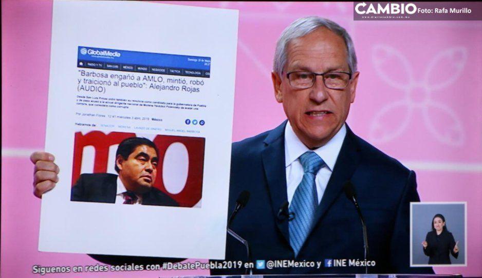 AMLO no quería que usted fuera el candidato: Cárdenas ataca a Barbosa