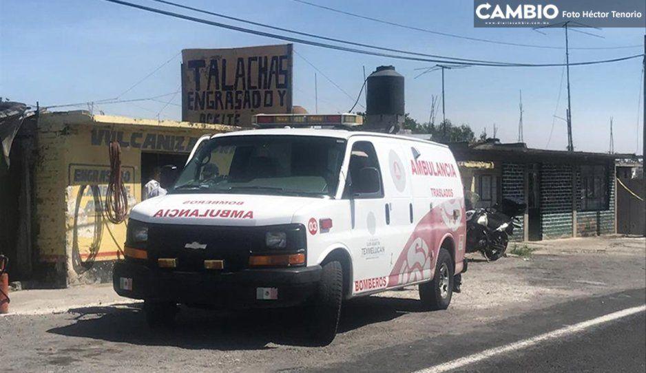Paramédicos de Texmelucan quedan detenidos en Tlaxcala tras ataque de comando armado