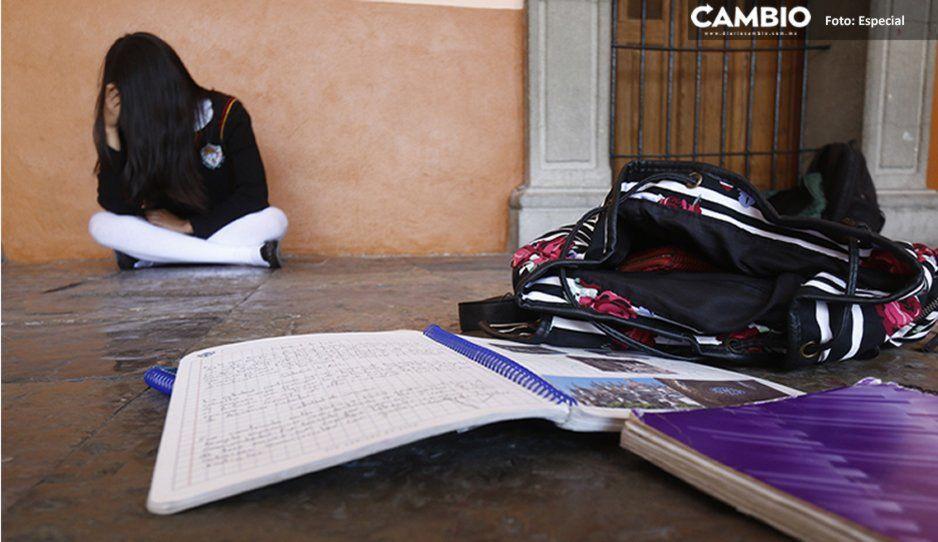 Estudiante de bachillerato se suicida tras ser víctima de bullying en Tlachichuca