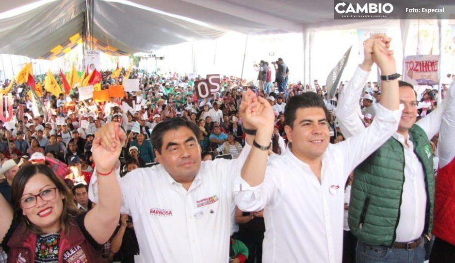 En Guadalupe Victoria, Barbosa Huerta  pide recuperar respeto por instituciones