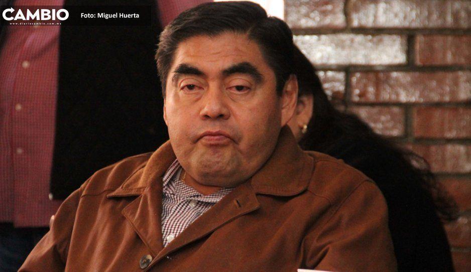 Barbosa minimiza apoyo de senadores a Armenta: ellos no votan en Puebla