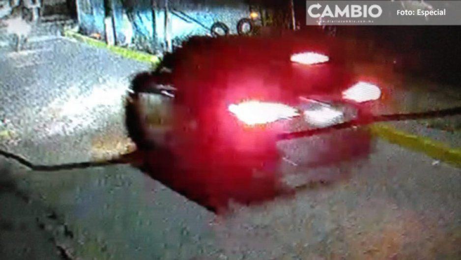 Balacera en Chachapa: hieren a motociclista y la policía ni sus luces