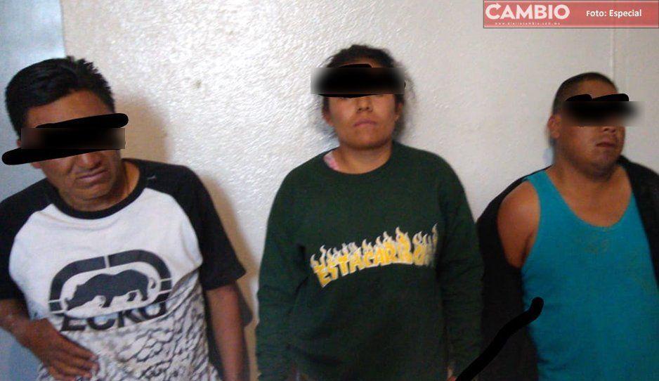 Policías detienen a El Sapo, cabecilla de banda de asaltantes en Texmelucan