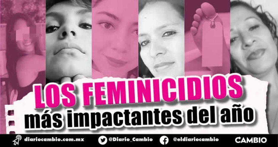 Los feminicidios más impactantes del año