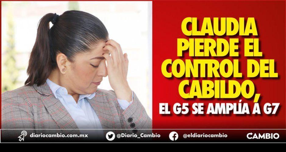 Claudia pierde el control del Cabildo, el G5 se amplía a G7
