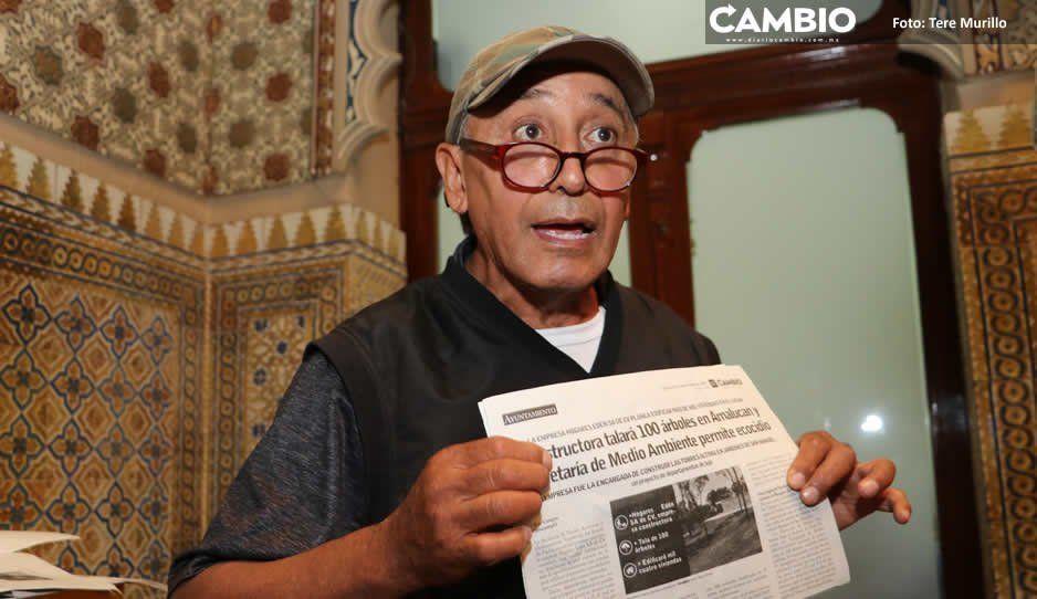 Ambientalistas culpan a Marín, Moreno Valle, Gali y Pacheco de fomentar ecocidios en Puebla