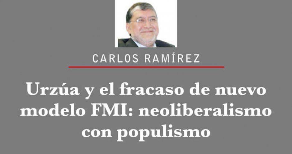 Urzúa y el fracaso de nuevo modelo FMI: neoliberalismo con populismo