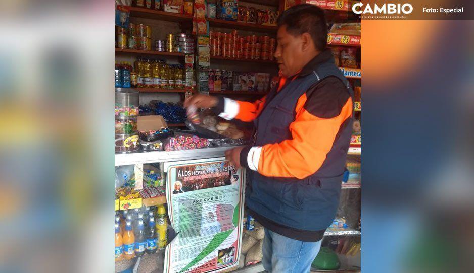 Protección Civil decomisa 20 kilos de pirotecnia en negocios de El Verde