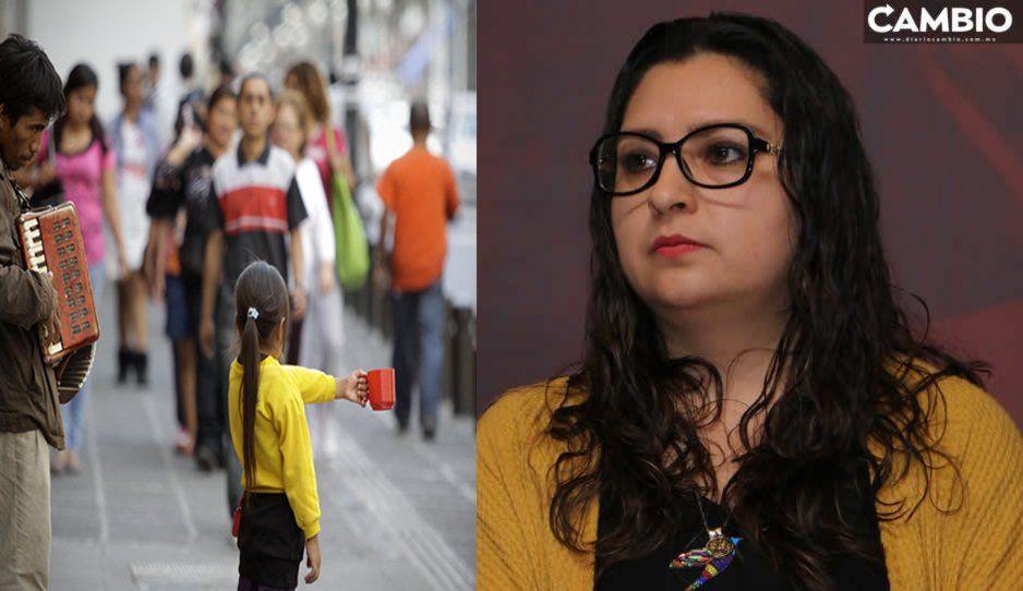 Niños salen a trabajar por diversión, no por explotación: hermana de Claudia Rivera