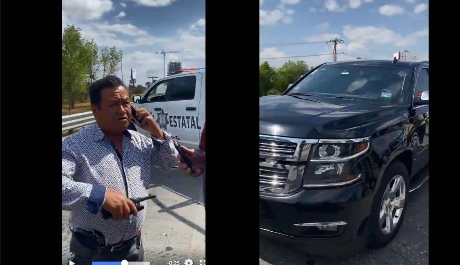 Ministeriales pensaron que era robada la Suburban del hijo de Julián Abed (VIDEOS)