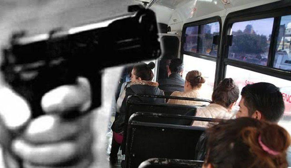 ¡Siguen los atracos! Encañonan y asaltan a pasajeros de la ruta Flecha Verde