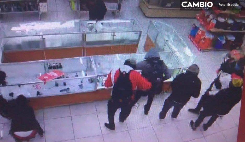 Dos atracos violentos a Coppel la misma semana; ahora le tocó al de Torrecillas